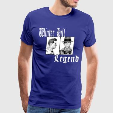 Boston Irish Winter Hill Legend: Whitey Bulger - Men's Premium T-Shirt