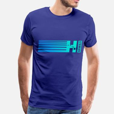 Hi HAWAII - Men's Premium T-Shirt