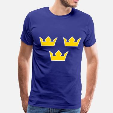 Sweden Hockey Team tre_kronor - Men's Premium T-Shirt