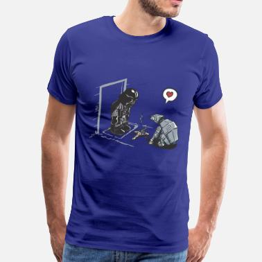 Funny Collection Funny Star Wars Darth Vader comic - T-shirt premium pour hommes