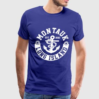 Montauk Long Island - Men's Premium T-Shirt