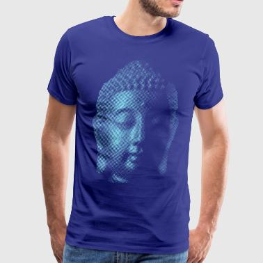 Big Buddha Big Blue Buddha - Men's Premium T-Shirt
