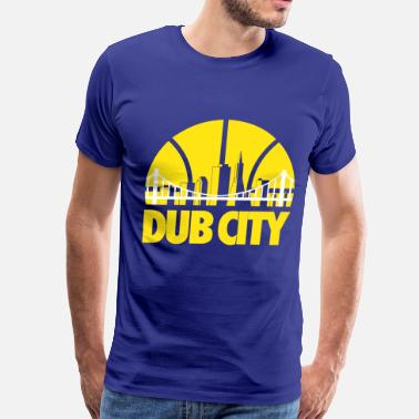Golden State dub_city3 - Men's Premium T-Shirt
