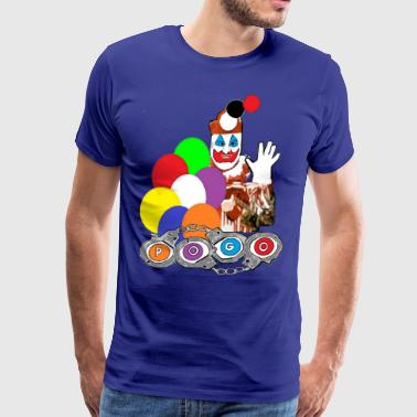 Pogo the Clown John Wayne Gacy - Men's Premium T-Shirt