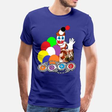 John Wayne Gacy Pogo the Clown John Wayne Gacy - Men's Premium T-Shirt