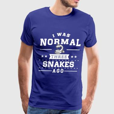 Snake Normal Three Snakes Ago - Men's Premium T-Shirt