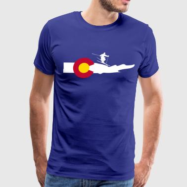Colorado Ski - Men's Premium T-Shirt