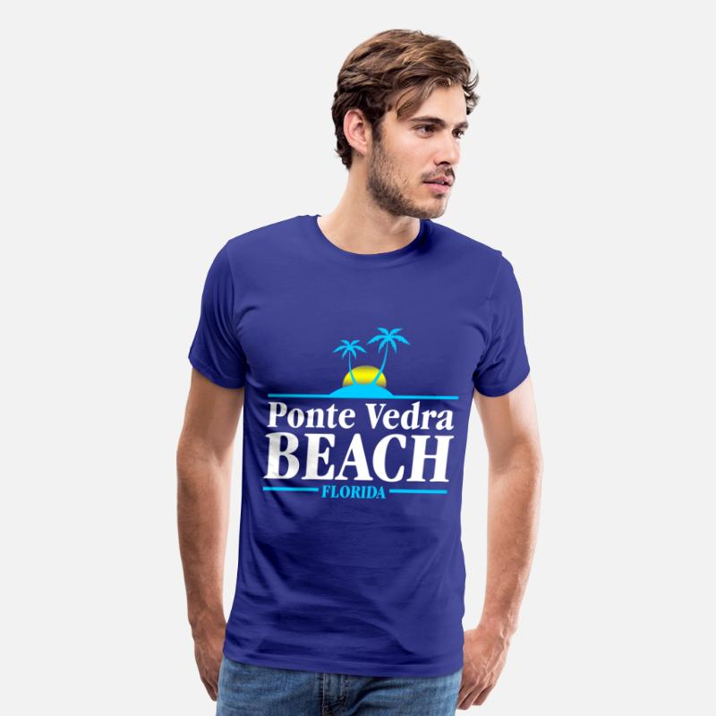 Ponte Vedra T-Shirts - Ponte Vedra Beach - Men's Premium T-Shirt royal blue