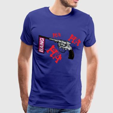 ha ha ha 3 - Men's Premium T-Shirt