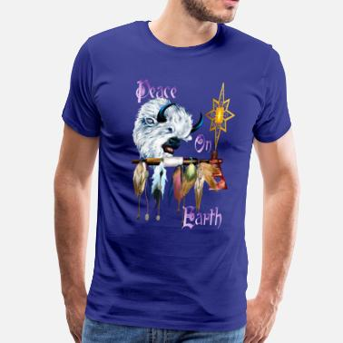 Native Earth Peace On Earth - Men's Premium T-Shirt