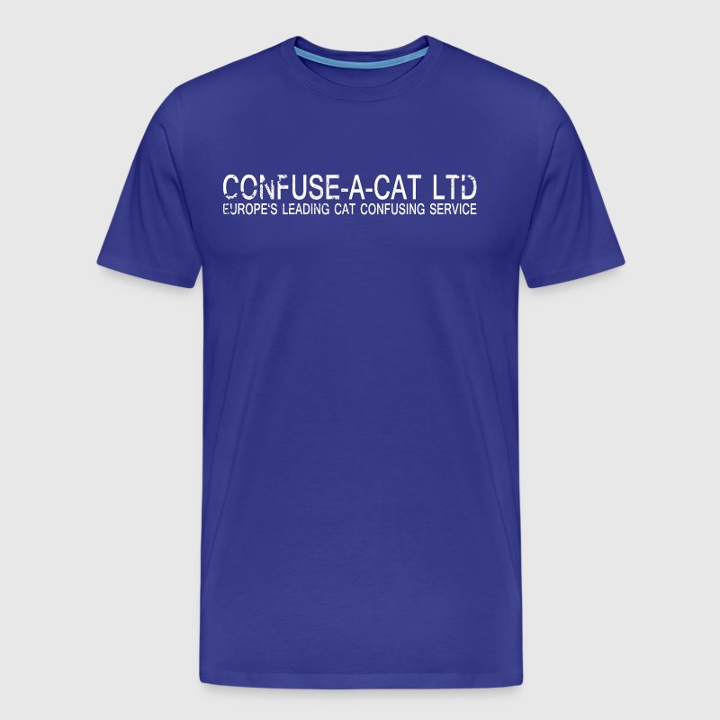 confuse_a_cat vintage - Men's Premium T-Shirt