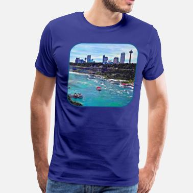 Niagara Falls Niagara Falls ON Skyline - Men's Premium T-Shirt