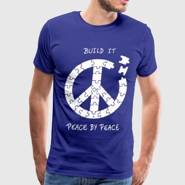 Peace by Peace - Men's Premium T-Shirt