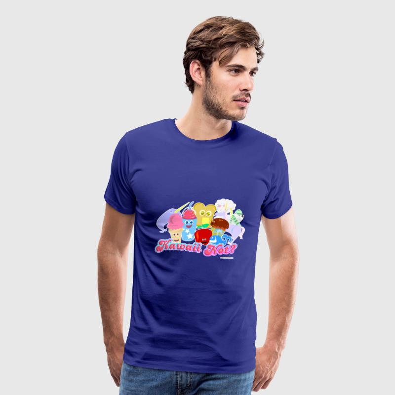 Kawaii Not? - Men's Premium T-Shirt