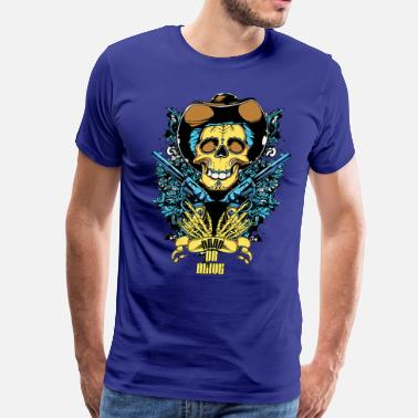 Dead And Alive Dead and Alive - Men's Premium T-Shirt