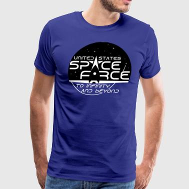 US Space Force to infinity - Men's Premium T-Shirt