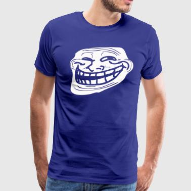 Troll Face Problem Meme - Men's Premium T-Shirt