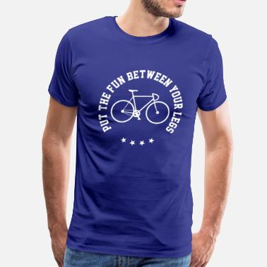 Between Legs Fun Between Your Legs - Men's Premium T-Shirt