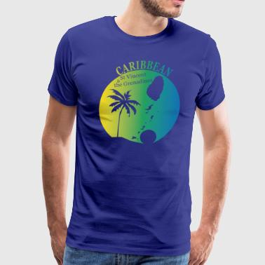 St VINCENT & grenadines - Men's Premium T-Shirt