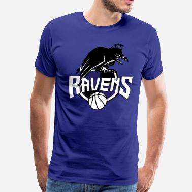 One Tree Hill Ravens coat of arms - Men's Premium T-Shirt