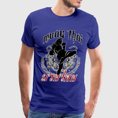 Muay Thai - Tattoo - Men's Premium T-Shirt