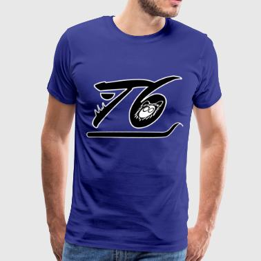 T6 Underline Crewneck - Men's Premium T-Shirt