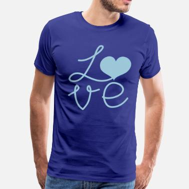 Love-square-design LOVE square DESIGN - Men's Premium T-Shirt
