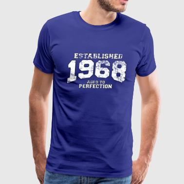 established_1968 - Men's Premium T-Shirt