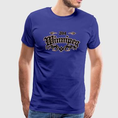 Winnipeg 204 - Men's Premium T-Shirt