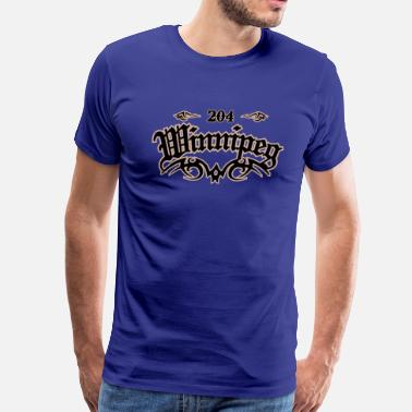 204 Winnipeg Winnipeg 204 - Men's Premium T-Shirt