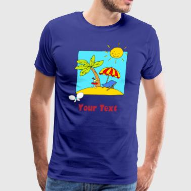 Holliday Scene - Men's Premium T-Shirt
