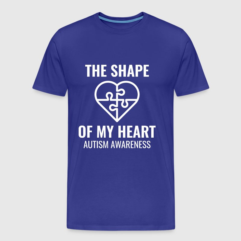 The Shape Of My Heart - Men's Premium T-Shirt