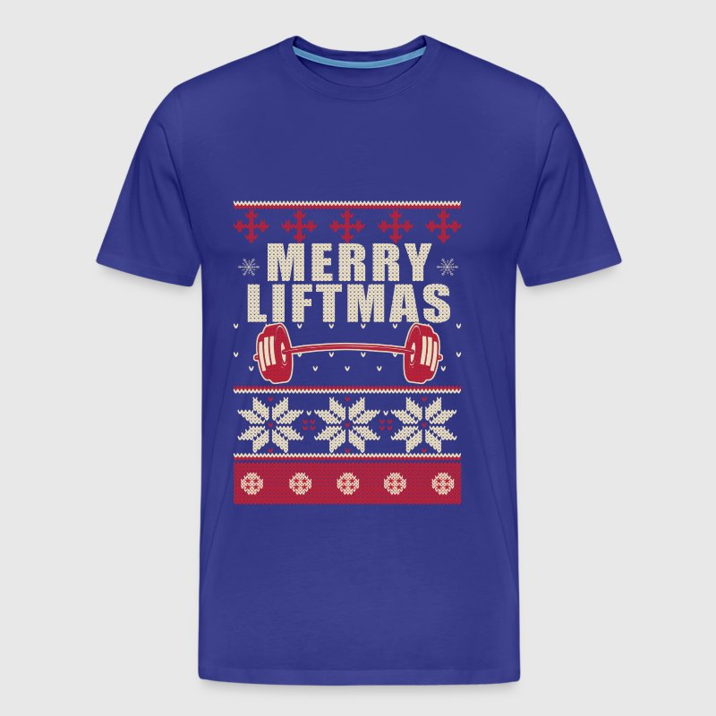 liftmas merry liftmas - Men's Premium T-Shirt