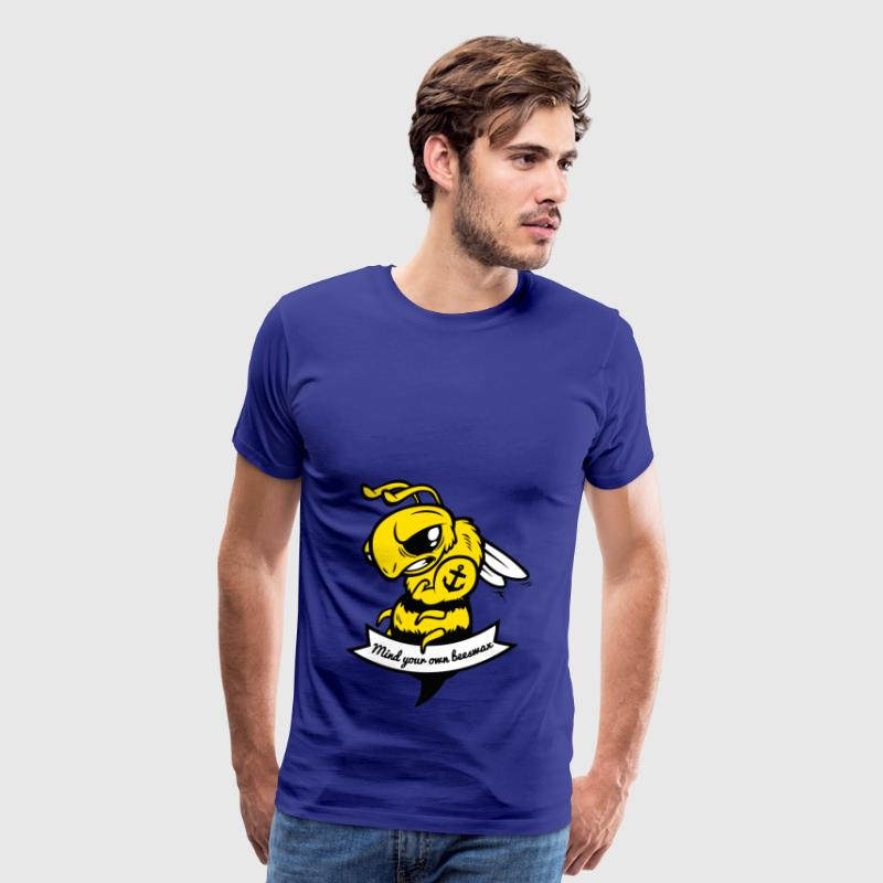 Mind your own Beeswax - Men's Premium T-Shirt