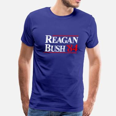 Reagan Bush Reagan Bush 84 Tshirt  - Men's Premium T-Shirt