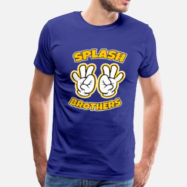 Splash Brothers Splash Brothers funny - Men's Premium T-Shirt