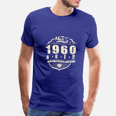 1960s The Beatles Made in 1960 aged to perfection - Men's Premium T-Shirt