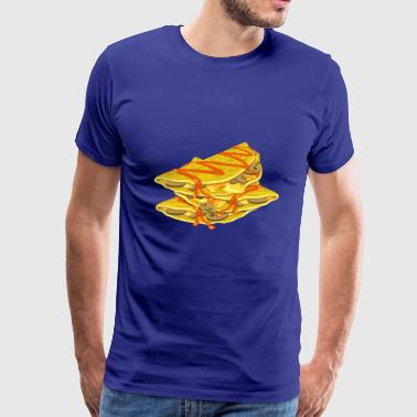 quesadilla tortilla nachos mexican food10 - Men's Premium T-Shirt