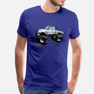 Lifted Ford Trucks Lifted 4x4 Ford Truck - Men's Premium T-Shirt