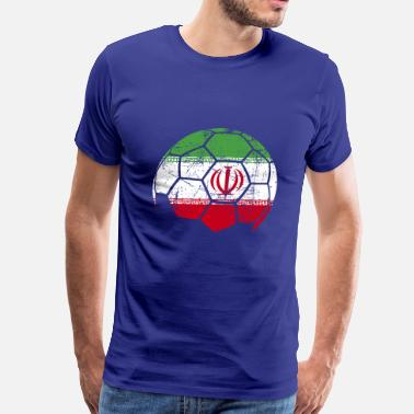 Iran Iran Soccer Football Ball - Men's Premium T-Shirt