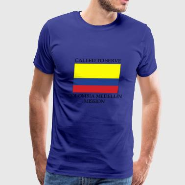 Colombia Medellin Mission LDS Mission Called to - Men's Premium T-Shirt