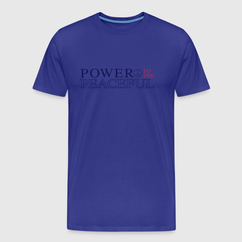 Power to the Peaceful - Men's Premium T-Shirt