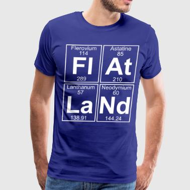 Fl-At-La-Nd (flatland) - Full - Men's Premium T-Shirt