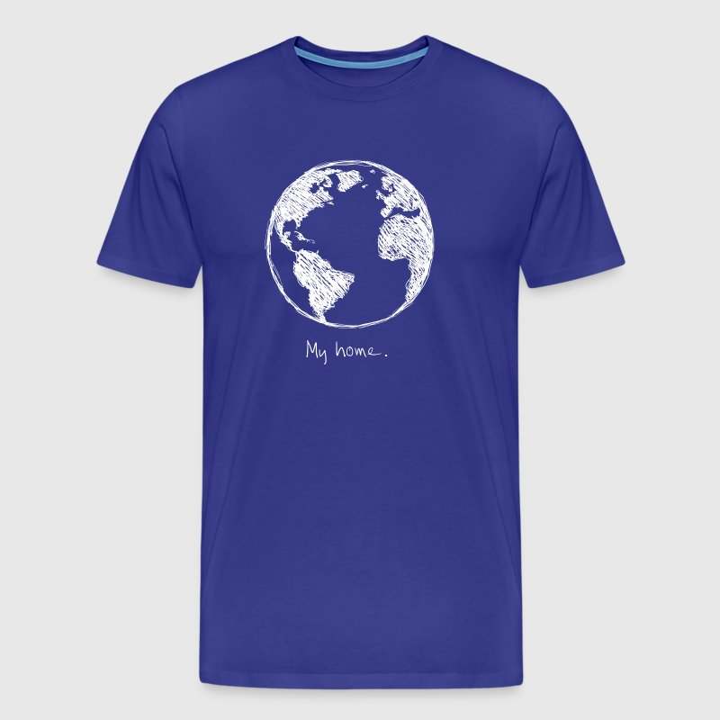 My home earth - My mother earth - Men's Premium T-Shirt