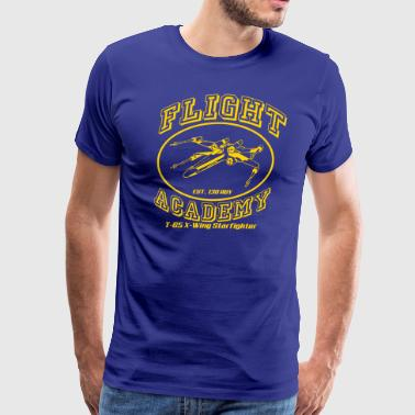 flight academy x wing - Men's Premium T-Shirt