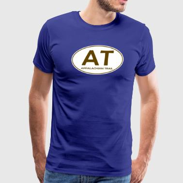 Appalachian Trail Oval AT Design - Men's Premium T-Shirt