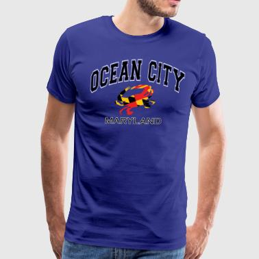 Ocean Ocean City Maryland Crab - Men's Premium T-Shirt