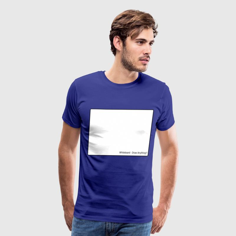 whiteboard - Men's Premium T-Shirt