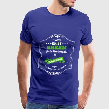 Hero of My Life My Daughter MS Awareness - Men's Premium T-Shirt