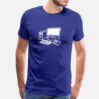 Computing computer - Men's Premium T-Shirt